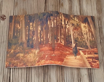 lost in thought journal - diary notebook gift giving under 20, Hunting Island SC by tremundo