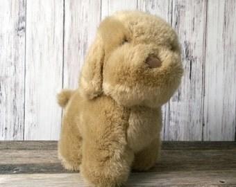 Dog Stuffed Animal Dakin Dog Puppy Stuffed Animal 1985 Tawny Puppy