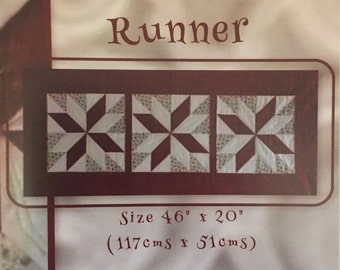 Borrowdale Star Table Runner Pattern