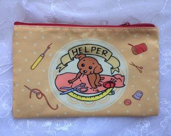 Dog Helper Zippered Pouch Bag