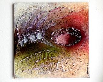 """Painting..Modern Art..""""Fata Morgana: Mirage In The Desert""""...Textured Modern Abstract...Contemporary Wall Art...Home Decor...Original Art"""