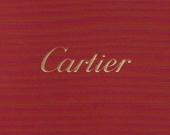 Rare 2008 Cartier Mens & Ladies Watch Catalog~COLLECTIBLE!