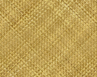 Basket Texture Fabric - Rattan Basket Weave By Joanmclemore - Faux Basket Weave Texture Cotton Fabric By The Yard With Spoonflower