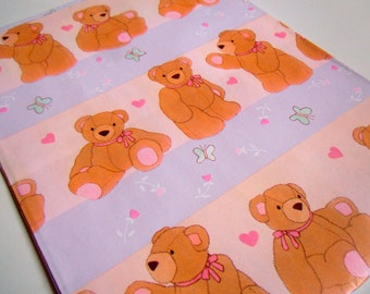 Vintage 1980's All Any Occasion Wrapping Paper | Purple Gift Wrap Paper | Animals Teddy Bears Gift Wrapping Paper