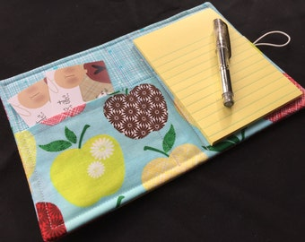 Mini List Taker, Organizer, Juicy Apples, Notepad And Pen/Pencil Included