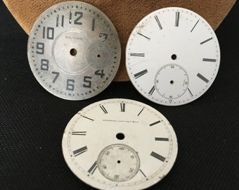 Clock face parts