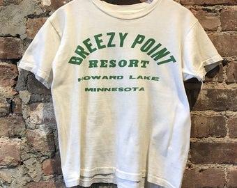Vintage breezy point resort boys t shirt