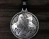 Celtic Horse Knot-Work Epona Pewter Pendant | Irish Jewelry | Scottish Jewelry | Celtic Jewelry | Handcrafted Jewelry | Treasure Cast Pewter