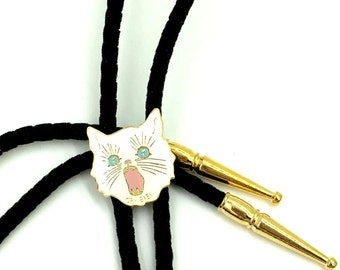 Cry Baby Cat Bolo Tie