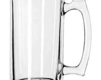 25 Ounce Blank Beer Mug
