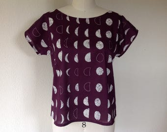 Moon Phases cotton top