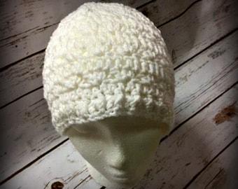 Crochet adult hat, Crochet hat, hat, beanie, crochet beanie, Chemo Hat, Crochet Cancer hat (Ready to Ship)