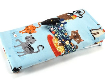 Interchangeable Knitting Needle Organizer - Meow or Never