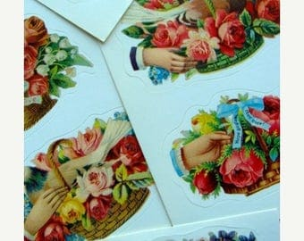 ON SALE Gorgeous Highly Detailed Victorian Correspondence  Stickers