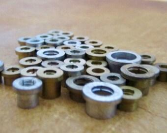 Vintage Brass Clock parts spindles - Robot mix  - Steampunk - Scrapbooking k23