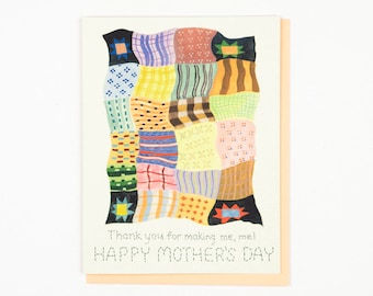 Mother's Day Quilt Card