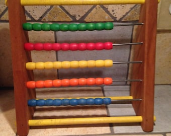 Educational Table-Top Abacus by Sandberg
