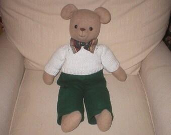 Teddy bear doll