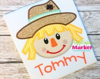Machine Embroidery Design Embroidery Scarecrow Boy INSTANT DOWNLOAD