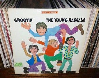 The Rascals Groovin' Vintage Vinyl Record