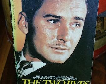 The Two Lives Of Errol Flynn Vintage Paperback Book