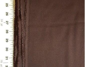 Vintage Barkcloth Dark Brown sold BTY