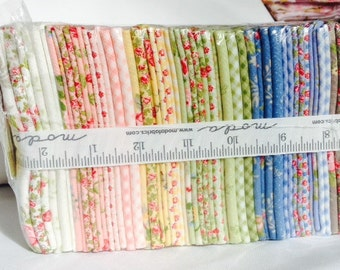 Fat Quarter Bundle Windermere Brenda Riddle RARE Out of Print pink blue green Quilting Crafts Sewing girl
