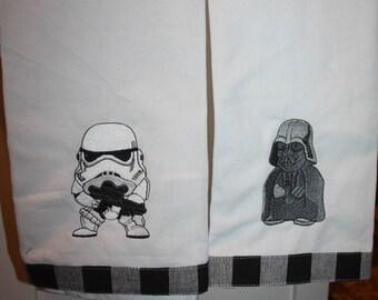 Darth Vader and Storm Trooper Towel Set