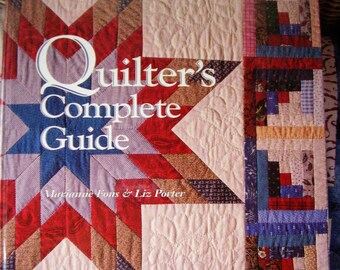 Quilter''s Complete Guide, Fons & Porter, hard cover, spiral bound book