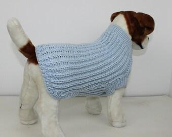 Madmonkeyknits - Simple Fishermans Rib Dog Coat knitting pattern pdf download - Instant Digital File pdf knitting pattern