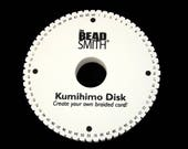 64 Slot Kumihimo Disc Round 20mm Thick 6in Diameter