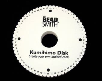 64 Slot Kumihimo Disc Round 20mm Thick 6in Diameter SALE