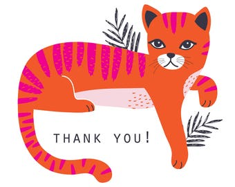 Buster's hanging out to say Thank You : pack of 6 cards