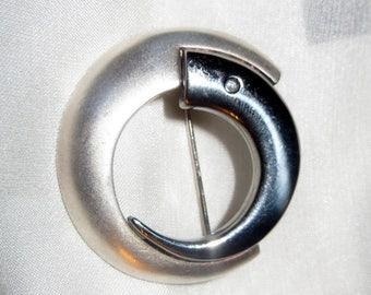 Denmark Astri Holthe Modernist Brooch Pin Sterling Silver