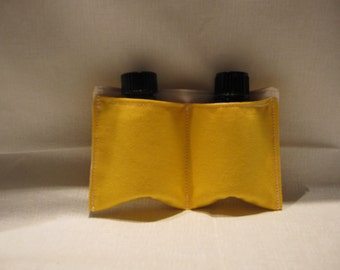 Essential oils 2-pack take along pouch, doTerra oils, young living oils, aromatherapy oils pouch