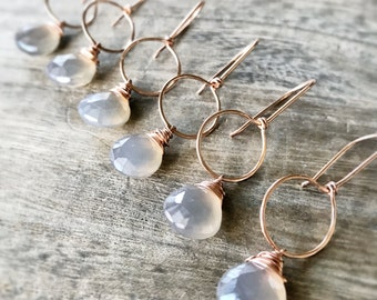 Tarragon Earrings Aventurine Smooth Rounds with by FableBay