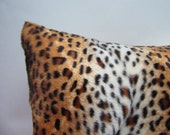 """SALE small cheetah pair covers, 16"""" soft and cuddly pillows"""
