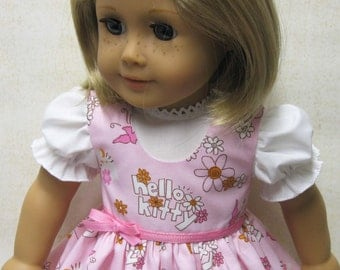 Hello Kitty Jumper and Blouse for 18 inch doll