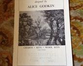 Alice Godkin Embroidery Kit Catalogue