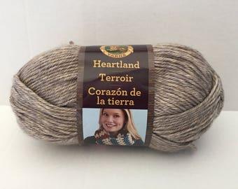 Lion Brand Heartland Yarn - Grand Canyon