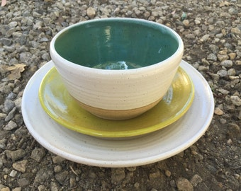 Ceramic Dinner Set, Pottery Plates, Place Setting, Wedding Registry, Pottery, Ceramic Dishes, Pasta Bowls, Dinnerware, Wheel Thrown