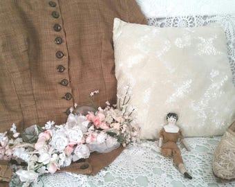 victorian dollshouse doll, bisque doll, antique dolls , TLC needs repair, victorian dolls, victorian doll