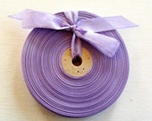 Vintage 1930's-40's French Woven Ribbon -Milliners Stock- 5/8 inch Pastel Iris