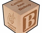 Baptism Block with Priority Int'l Shipping to Australia