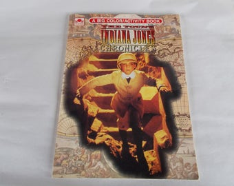 Vintage The Young Indiana Jones Chronicles Coloring Book