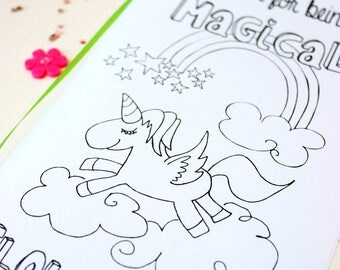 Wedding Coloring Book - Unicorn coloring page - Unicorn coloring book - Wedding Favor for Kids Wedding Coloring Pages Wedding activity book