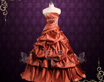 SALE   Plus Size 16 Ball Gown Formal Prom Evening Dress   Evian