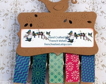 Decorative Clothespin Magnets II