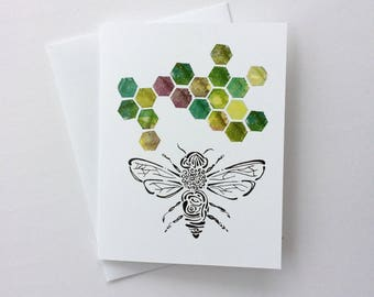 Bee cards for Amber
