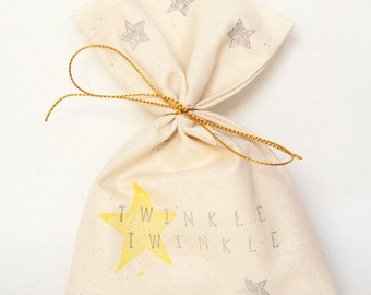 TWINKLE TWINKLE Little STAR Party Favour Bags - Twinkle twinkle party, twinkle twinkle little star theme, little star, star party favours